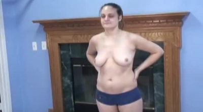 An Amateur Chick Is Rubbing Her Pussy Like Crazy, While Her Roommate Is Drilling Her Slit
