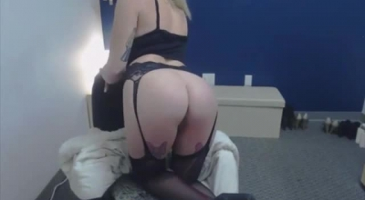 Cute Little Blonde Teen Shows Her Nice Pussy And Tight Anus
