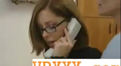 Office Ladieskeepers Get Their Pussy Licked By One Lucky Guy