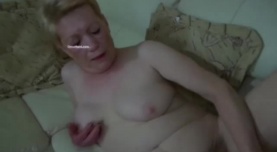 Horny Granny Teaches A Newbie How To Suck A Cock Dry.