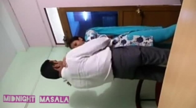 Indian Teen Babe With Hairy Pussy Is Sucking Dick And Getting Banged On The Floor