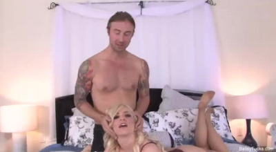 Ravyn And Chad Are About To Have Sex In Her Bedroom, Once They Get Horny