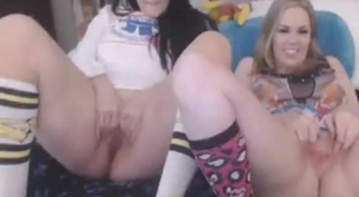 Naughty Girls Are Having Steamy Orgy In The Living Room, And Enjoying Every Second Of It