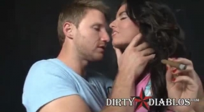 Tranny Christy Kiss Is Having A Gentle Lesbian Threesome And Using A Dildo To Spice It Up