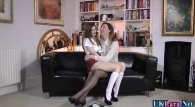 Busty Lara Banging Her Friend