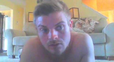 Young Stud Gets A Janky Head In Front Of The Hard Cock