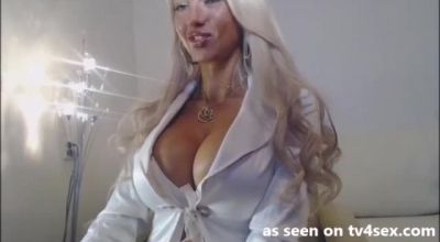Large Breasted Blonde Whore Named Ina Darling Suckign Dick Up Off The Floor
