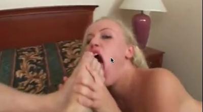 Wishful Girl Sucks Hard Penis
