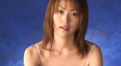 Beautiful Japanese Masturbating In The Mirror