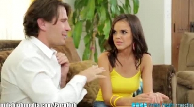 Dillion Harper Is About To Start Cheating On Her Partner, In The Late Afternoon, In Her Living Room