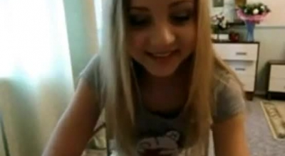 Sweet Blonde Teen And Her Good Friend Are Having A Casual Threesome, With A Guy They Both Like A Lot