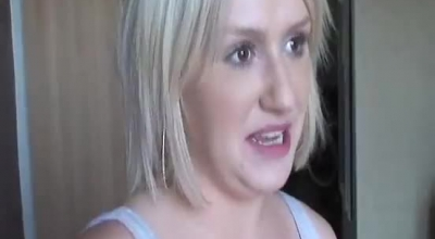 Voluptuous Blonde Woman Knows How To Satisfy Every Guy She Likes, With Her Lips, In The Night Club
