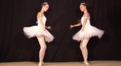 Ballerina From The Show Sucks A Hard Dick And Rides It While Talking On The Phone