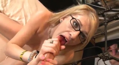 Hot Allie James Will Not Take No For An Answer After A Blowjob