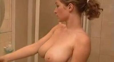 Sweet Busty Teen Fingering On Her Wet Vagina