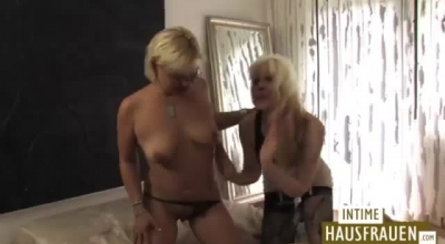 German Milf Is Getting Fucked Hard In Front Of Her Partner And Enjoying Every Second Of It