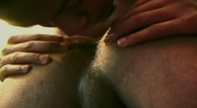 Two Black Guys Are About To Fuck A Slutty Slut From Behind, Until They Both Get Completely Satisfied