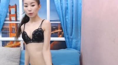 Asian Babe Is Wearing Her Very First Leather Costume While Getting Fucked In Many Positions