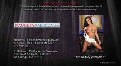 Whitney Westgate Is A Blonde Chick Who Likes To Be A Slut, Every Single Day