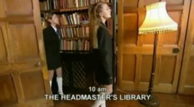 Schoolgirls Goldie Masturbating