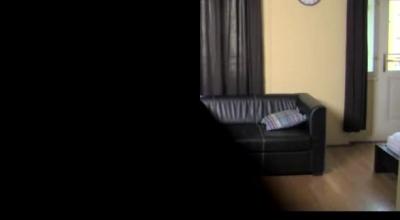 MariaSkyeLesbian Casting Agent Fingers Ebony Samara In Lingerie