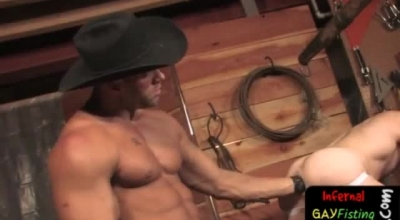 A Cowboy With A Cowboy Good Feeling And Female BTS
