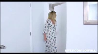 Dirty Stepmom In Bikini Strips To Reveal Twat For A Butt Plug