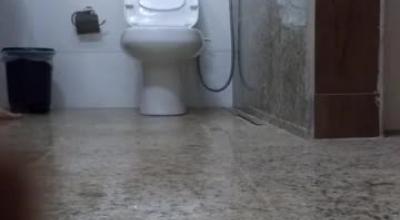 Peeing Ladies Toilet Room Destination Pool Pounding Fun