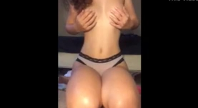 Shemale Snow Diving Cross Dresser Closeup Flashing Pussy And Bubble Butt
