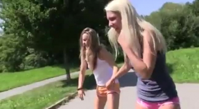 Young Best Friends Take Turns On Stepbro