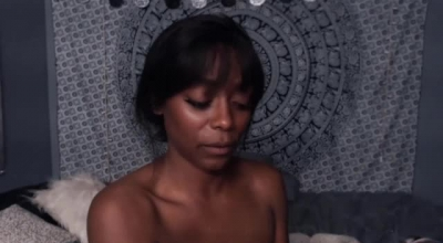 Sweet Ebony Babe Fucked And Face Jizzed By White Guy
