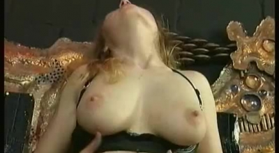 Horny Ass Dominatrix Gets Facial From Lucky Stud