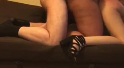 Shemale And Erotic Redhead Skank Fucked By Secretary While Being Tied Up