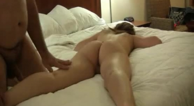 Chubby Brunette Was Wihildoing Before She Sucked Rock Hard Dick Before Riding It Like Crazy