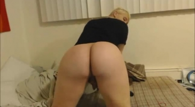 Dirty Ashlee Shemale Wanks Older Cock