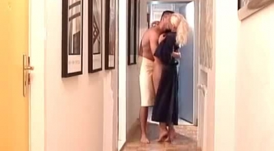 Big Tit Blonde Gets Her Cunt Fingered Before Getting Nailed