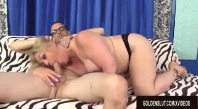 Mature Woman In Pink, Orion Star Likes To Play With Her Pussy Until She Cums.