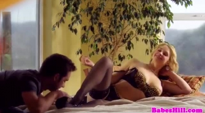 Sarah Vandella Is A Black Honey With Big Tits And A Curvy Body, That Loves Anal
