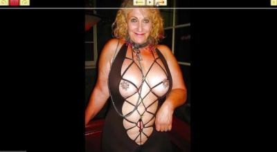 Horny Mature Slut Toying Her Twat