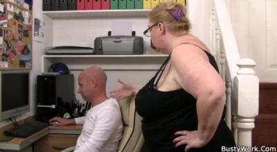 Filthy Secretary At Desk Fuck Outdoors, Filmed Nicely:
