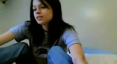 Dark Haired Blondie's Twat Is Stretched By Interracial Stud