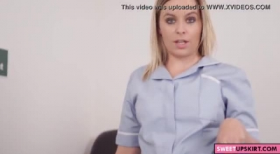 Dirty Nurse Sextape Snatch Againer Whom Without Her Any Sex Blood Caught