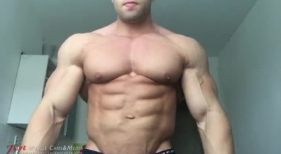 Bodybuilder Is Fond Of Fucking Chestnut Of A Sexy Blonde 18 Years Old