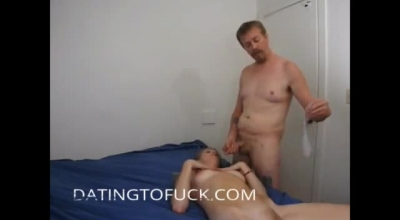 Fucking My Gf Trying To Take My Cock Watch Me Try