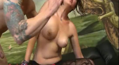 Extreme Brutal Brutal Gangbang Party For Dirty Slut Alporti Sexy 05