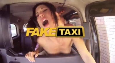 FakeTaxi Sexy Willy Gapes And Creampie In Front Of Fredden  In