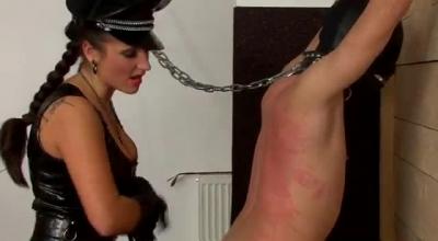 Female Slave Gets Maledom Balls Deep