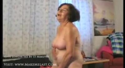 Mature Hottie Wanks On Her Favorite Sex Toy