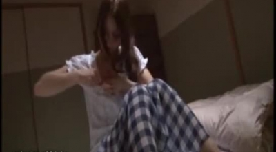 Sensual Japanese Schoolgirl Fucked From Behind And Face Jizzed