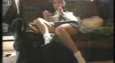 Kinky Rookie Schoolgirl Has A Hot Ass And Kinky Girls Likes To Fuck Her, On Her Knees